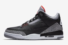 "NIKE AIR JORDAN RETRO 3 ""BLACK CEMENT"" OG - MEN'S"