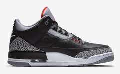 "NIKE AIR JORDAN RETRO 3 ""BLACK CEMENT"" OG - MEN'S en internet"