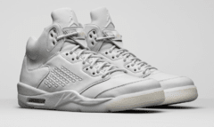 "AIR JORDAN RETRO 5 ""PURE PLATINIUM """