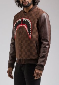 HUDSON SHARK MOUTH VARSITY JACKET