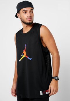 Nike Air Jordan DNA ''BLACK'' Three Colors Jersey