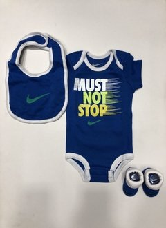 Nike Air Must Not Stop 3 Piece Infant Set (Talle 0-6 Meses)