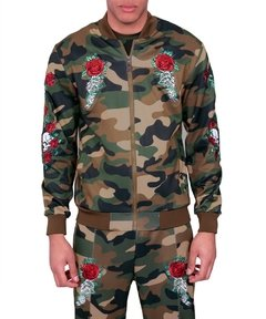 REASON ETERNITY CAMO TRACK JACKET