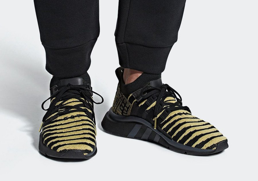 "adidas EQT Support ADV PK ""Shenron"" BlackGold x Dragon Ball Z"