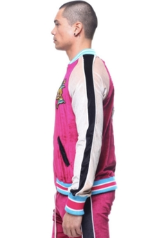 Hudson NYC Colorblock Track Jacket Velour en internet