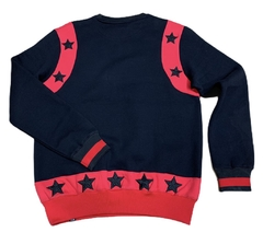 "Hudson Sweater Pullover ""Black Stars"" - Men's en internet"