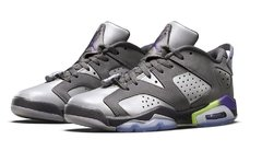 "AIR JORDAN RETRO 6 LOW ""ULTRA VIOLET"" GS"