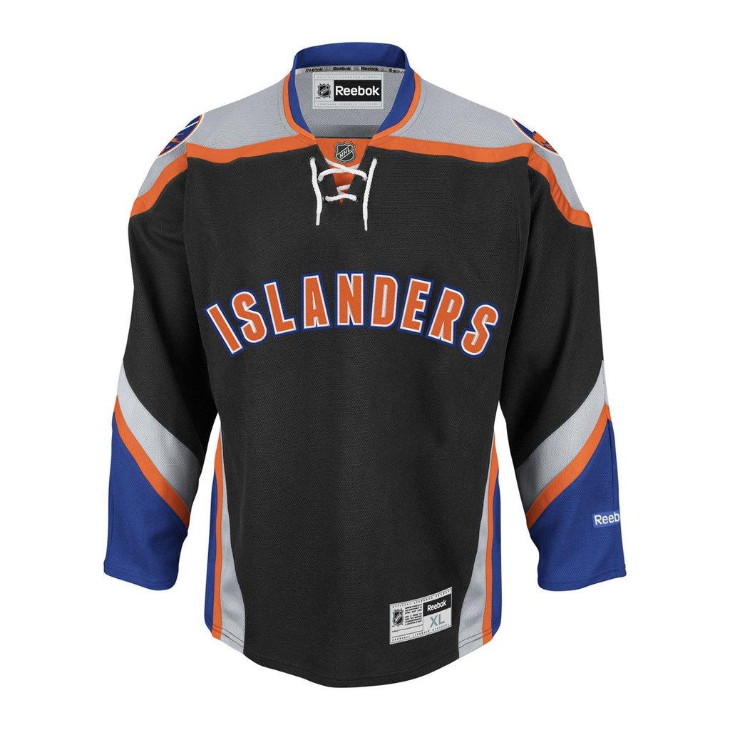 big sale f0019 6212d New York Islanders Reebok Premier Home Jersey - Black