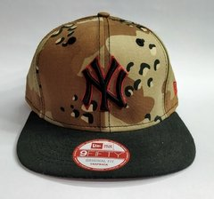 "GORRA NEW ERA ""NEW YORK YANKEES"" CAMO - SNAPBACK"