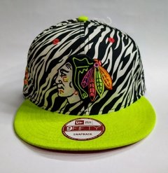 "GORRA NEW ERA ""CHICAGO BLACKHAWKS"" ZEBRA - SNAPBACK"