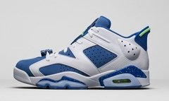 "AIR JORDAN RETRO 6 LOW ""GHOST GREEN "" GS"