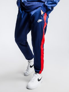 "NIKE NSW NSP WOVEN PANTS ""BLUE/RED"" - MEN'S en internet"