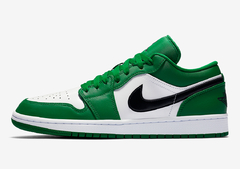 "Air Jordan 1 Low With A ""Pine Green"""