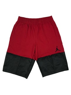 "AIR JORDAN FLEECE LITE ""RED/BLACK"" SHORTS - MEN'S"