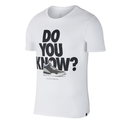 AIR JORDAN AJ 3 DO YOU KNOW TEE