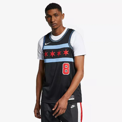 Chicago Bulls NBA Zach Lavine Chicago Bulls City Edition - LoDeJim