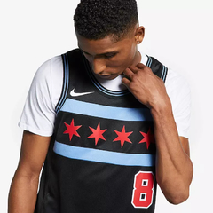 Imagen de Chicago Bulls NBA Zach Lavine Chicago Bulls City Edition