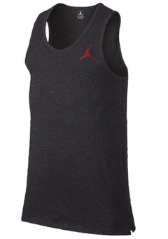 Jordan All Star Tank Top Shirt Black Heather/Red