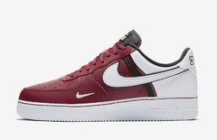 "NIKE AIR FORCE 1 LOW LV8 ""TEAM SPORTS"" BURGUNDY - MEN'S - comprar online"