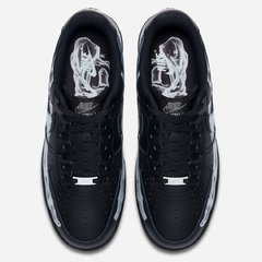 "Nike Air Force 1 QS ""Skeleton"" Black 