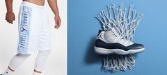"Air Jordan 11 ""Win Like '82"" x Jordan Retro 11 Reversible Shorts - LoDeJim"