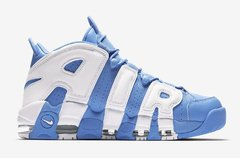 "NIKE AIR MORE UPTEMPO ""UNIVERSITY BLUE"" en internet"