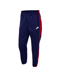 "NIKE NSW NSP WOVEN PANTS ""BLUE/RED"" - MEN'S"