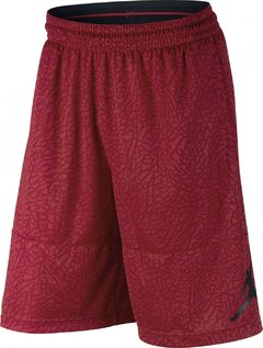 Air Jordan Elephant Print Blockout Gym Red Shorts