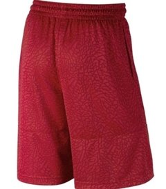 Air Jordan Elephant Print Blockout Gym Red Shorts - comprar online