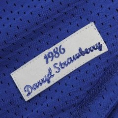 Darryl Strawberry 1986 Authentic Mesh BP Jersey New York Mets Jersey