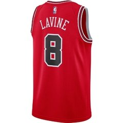 Chicago Bulls Zach LaVine Nike Red Replica Swingman Jersey - Icon Edition en internet