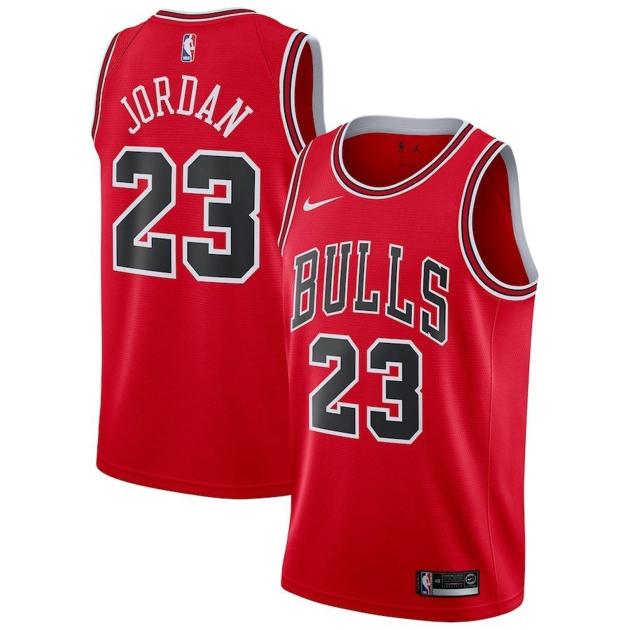 MEN S NIKE NBA CONNECTED JERSEY MICHAEL JORDAN ICON EDITION SWINGMAN JERSEY  (CHICAGO BULLS) d0750f72a2b