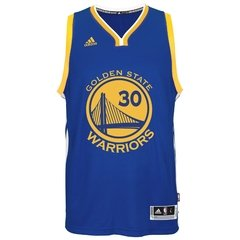 "Golden State Warriors ""Stephen Curry"" adidas Royal Player Swingman Road Jersey - comprar online"