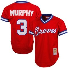 Dale Murphy 1980 Authentic Mesh BP Jersey Atlanta Braves Jersey
