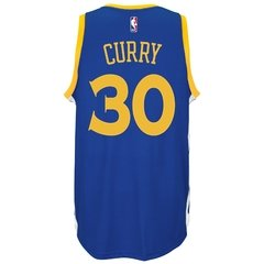"Golden State Warriors ""Stephen Curry"" adidas Royal Player Swingman Road Jersey en internet"