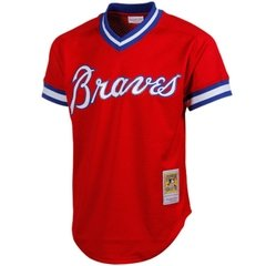 Dale Murphy 1980 Authentic Mesh BP Jersey Atlanta Braves Jersey - comprar online