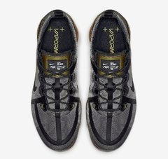 Nike Air VaporMax 2019 Black-Metallic Gold - LoDeJim