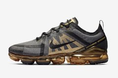 Nike Air VaporMax 2019 Black-Metallic Gold
