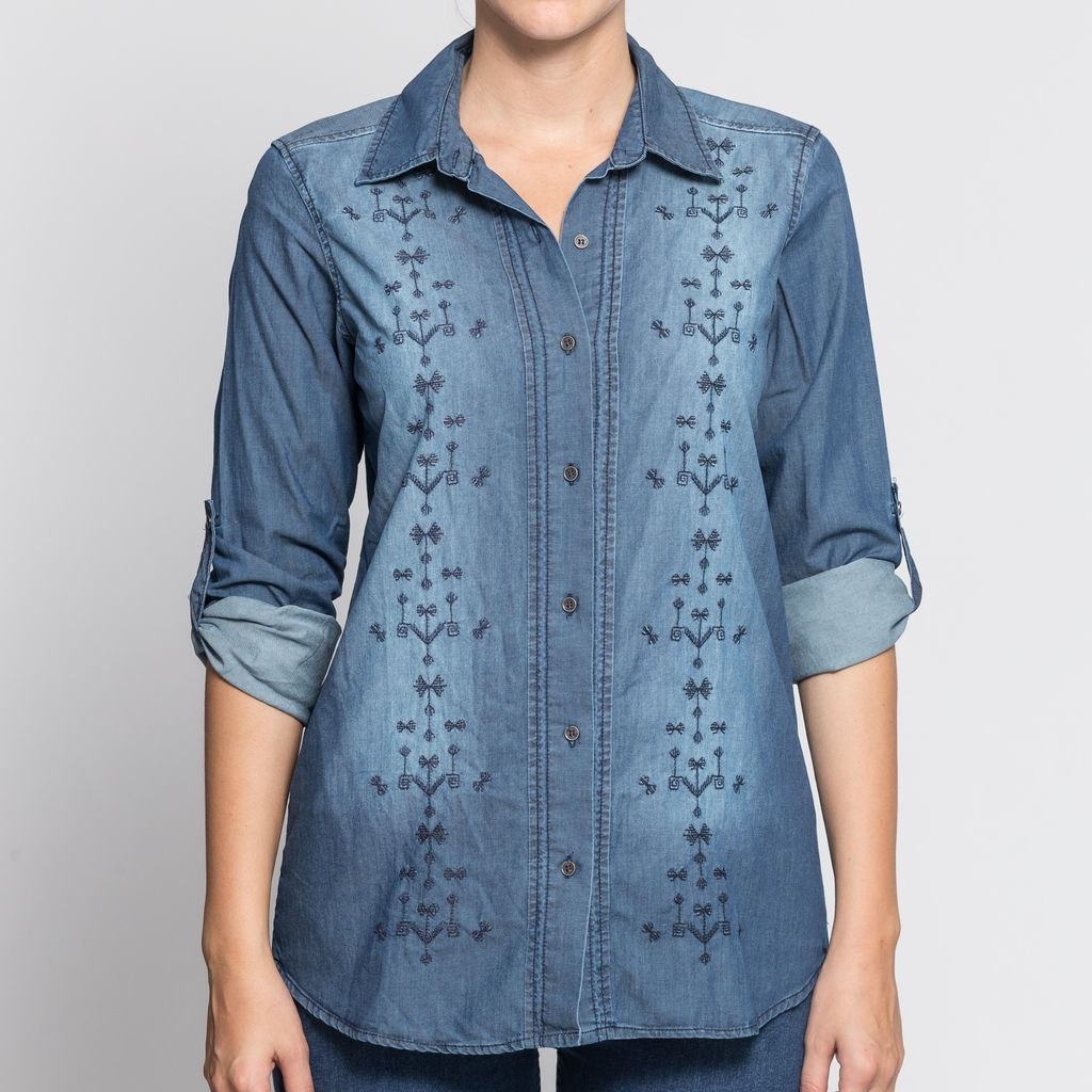 Camisa Denim Light