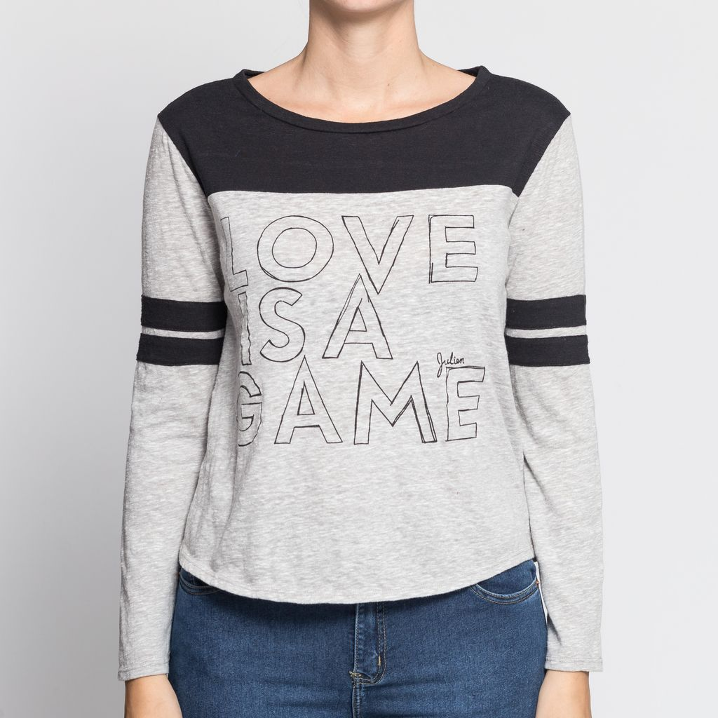 Remera love Game