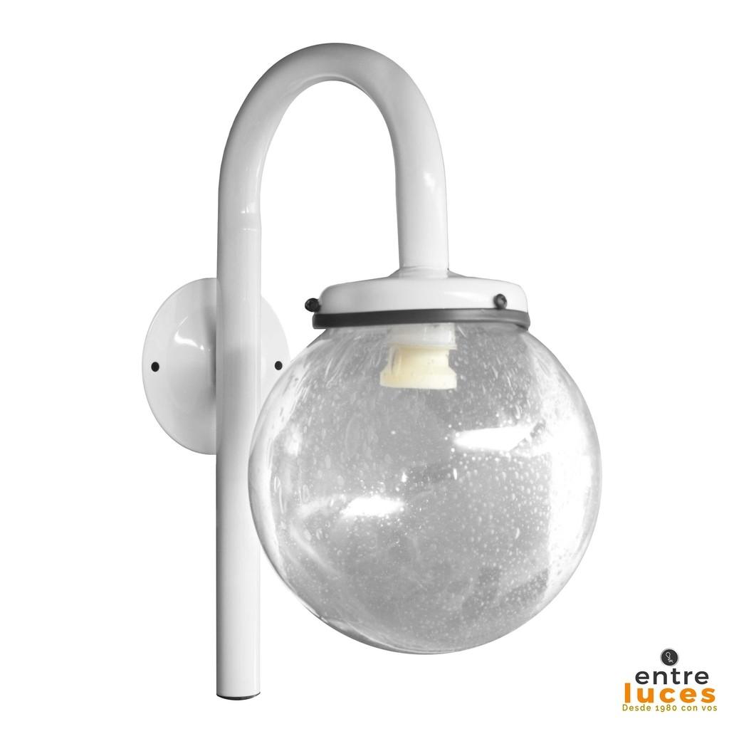 lmpara aplque globo para exterior