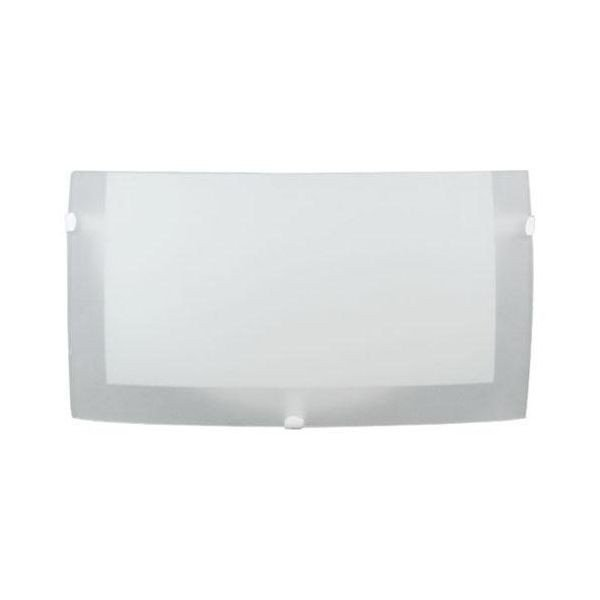 Medio Aplique Difusor De Pared Para 1 Luz - Apto Led!