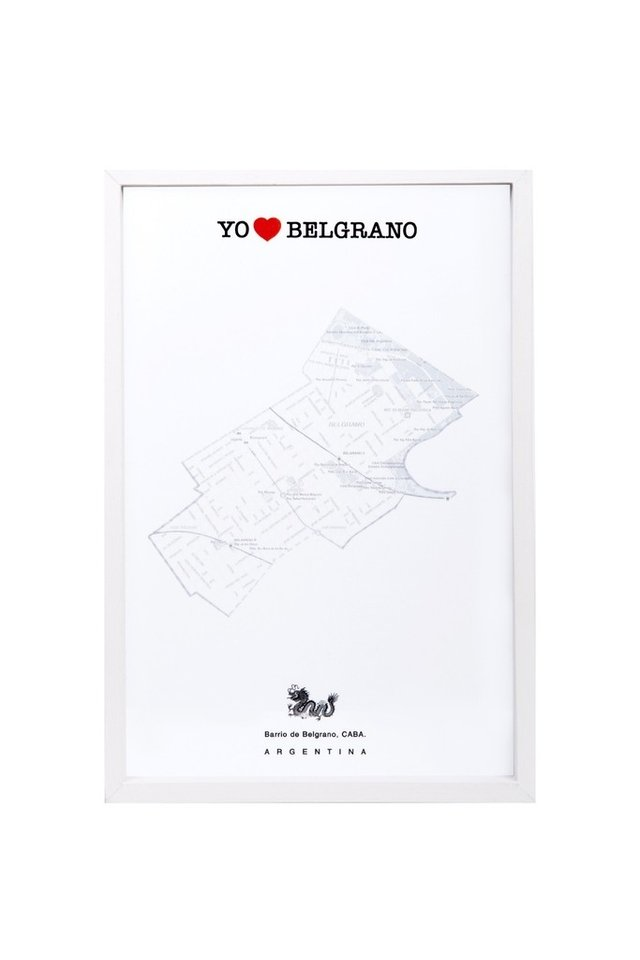 Mapa barrial Belgrano en internet