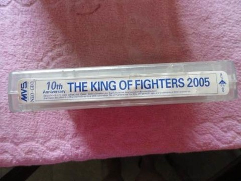 The King Of Fighters 2005 -10º Aniv. Fliperama Kof Neogeo