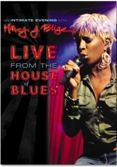 Dvd Mary J Blige - Live from the house of blues - Original