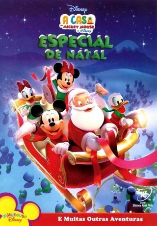 Dvd A casa do Mickey Mouse Especial de Natal Novo
