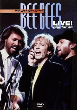 Dvd  Bee Gees Live one for all - Novo