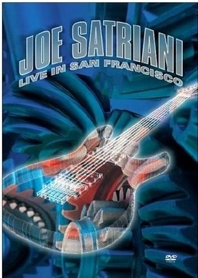 Dvd  Joe Satriani Live in San Francisco - Novo