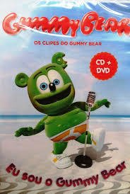 Dvd Gummy Bear - Os clipes do Gummy bear -   Novo - comprar online