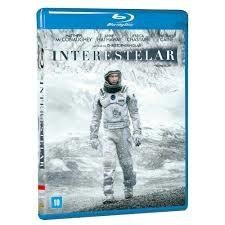 Blu Ray Interestelar - Ficção --  Novo